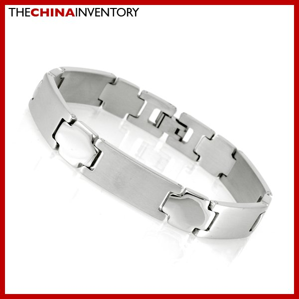 "11MM 8"""" STAINLESS STEEL WATCHBAND BRACELET B1716"