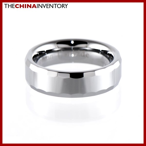6MM SIZE 10.5 TUNGSTEN CARBIDE WEDDING BAND RING R1411