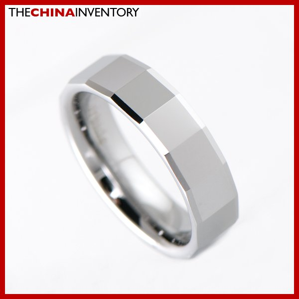 6MM SIZE 5 TUNGSTEN CARBIDE WEDDING BAND RING R1908
