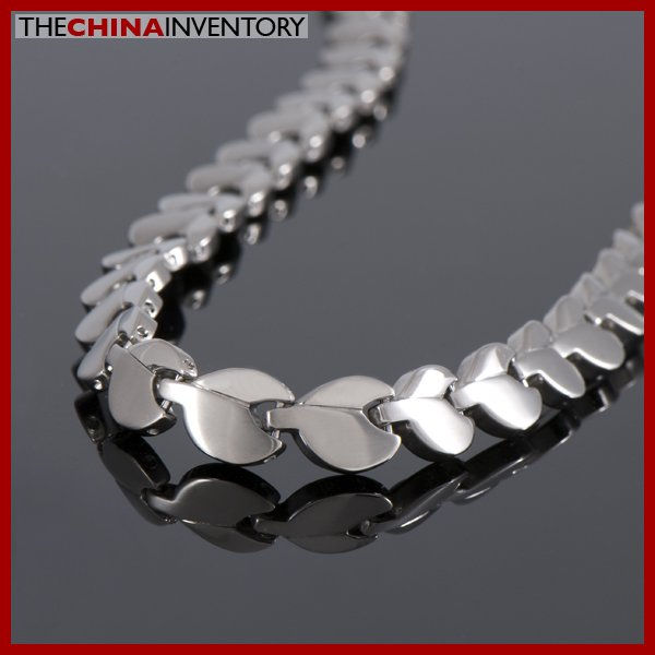 "20"""" TITANIUM CLOVER LEAF HEALTH THERAPY NECKLACE N1002"