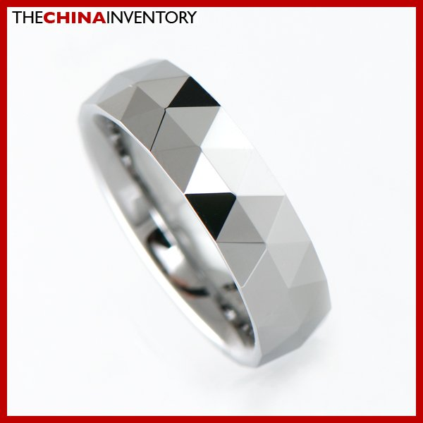6MM SIZE 4 TUNGSTEN CARBIDE WEDDING BLADE RING R1902