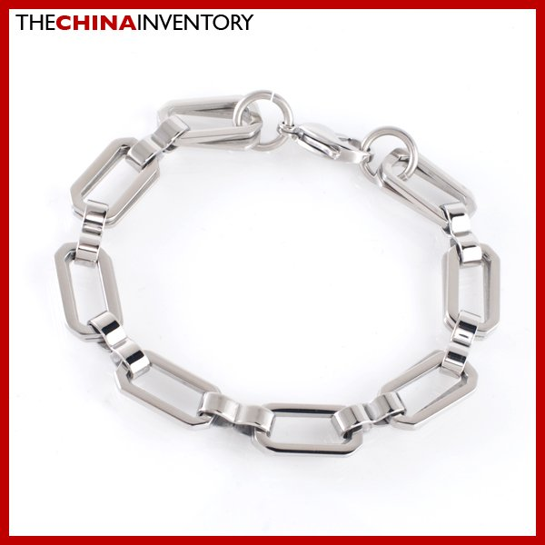 "9"""" STAINLESS STEEL DOUBLE CHAIN BRACELET B1901"