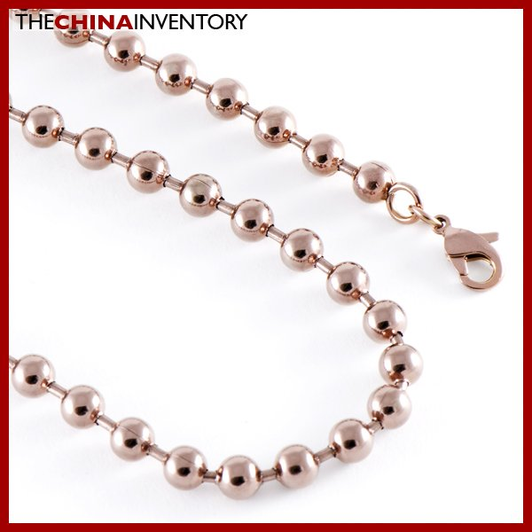 """22"""""""" 6MM STAINLESS STEEL LARGE BALL CHAIN NECKLACE N510B"""
