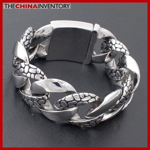 31MM SUPER HEAVY ROCK N ROLL CURB CHAIN BRACELET B2301