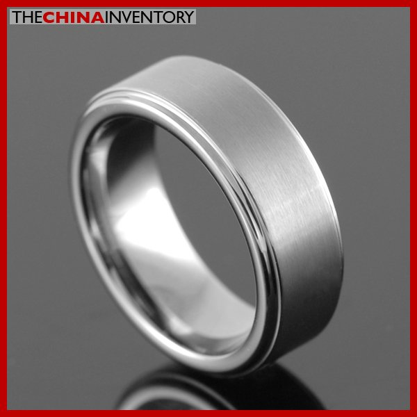 7MM SIZE 6 TUNGSTEN CARBIDE WEDDING BAND RING R2606