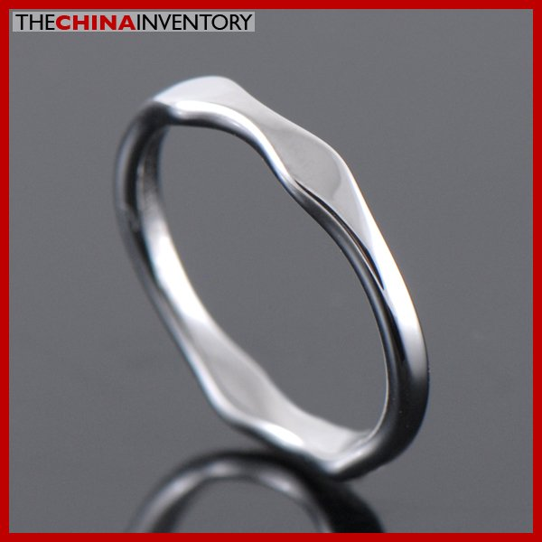 2MM SIZE 5.5 TUNGSTEN CARBIDE WAVE BAND RING R1907D