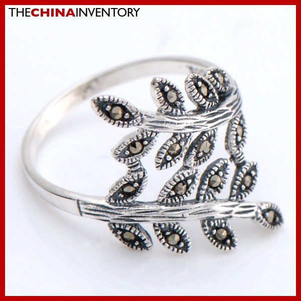 SIZE 7.5 MACARSITES 925 STERLING SILVER RING SIL2502