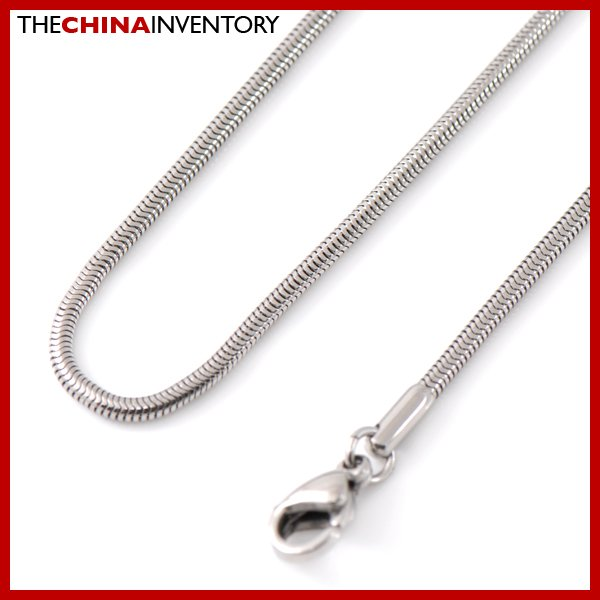 """1.9MM 20"""""""" STAINLESS STEEL SNAKE CHAIN NECKLACE N2902"""