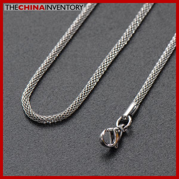 "2.5MM 20"""" STAINLESS STEEL SNAKE CHAIN NECKLACE N3202"
