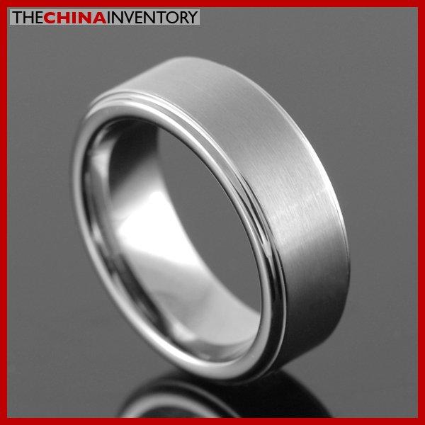 7MM SIZE 10.5 TUNGSTEN CARBIDE WEDDING BAND RING R2606