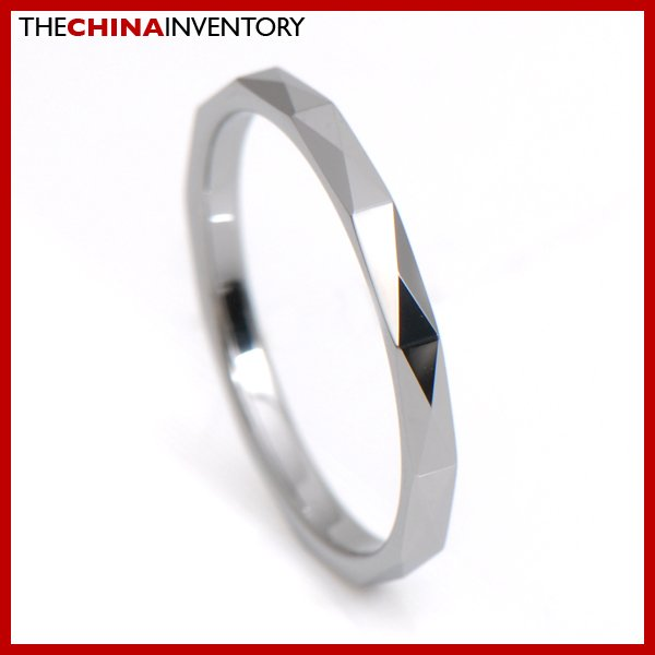 2MM SIZE 6 TUNGSTEN CARBIDE WEDDING BAND RING R3408