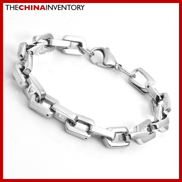"9MM 8"""" STAINLESS STEEL MARINE CHAIN BRACELET B1714"