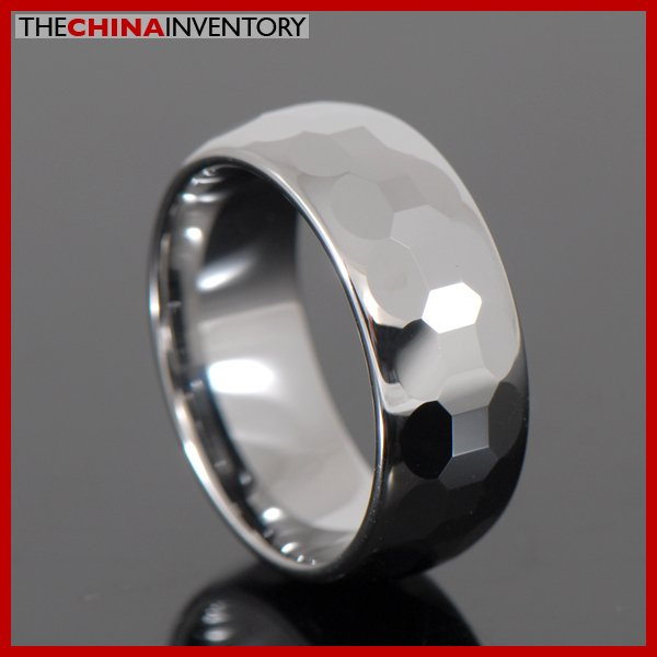 MEN'S SIZE 10 TUNGSTEN CARBIDE RING WEDDING BAND R3702
