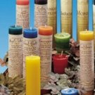 Botanical Healer Candles (x1)