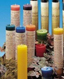 Botanical Healer Candles (x1)