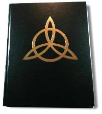 Celtic Triquetra Book of Shadows