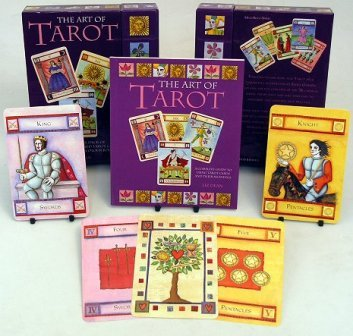 Art of Tarot Cards and Book Set