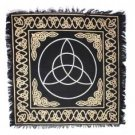 Altar Tarot Triquetra Black Cloth