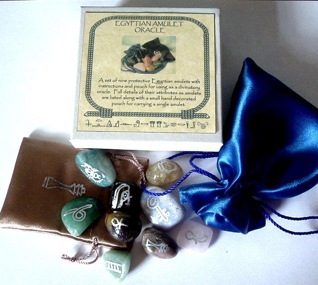 Egyptian Amulet Oracle Set