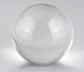 80mm Clear Crystal Ball
