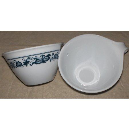 2~Corelle coffee mugs-Corning ware-Blue Floral pattern~free shipping
