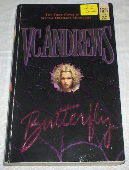 Butterfly by V. C. Andrews (1998) used PB