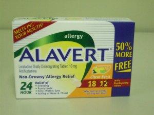 Alavert 24 Hour Non-Drowsy Allergy Relief - Citrus Burst - 18 Orally Disintegrating Tablets
