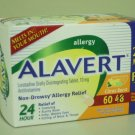 ALAVERT 24 Hour Non-Drowsy Allergy Relief - 60 Orally Disintegrating Tablets Citrus Burst
