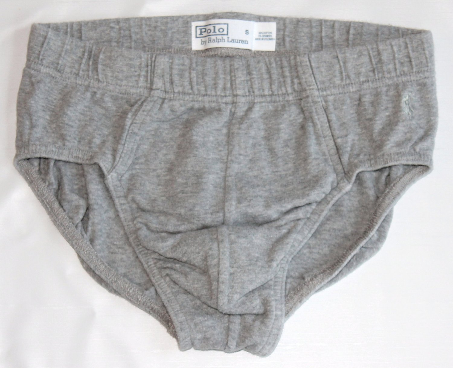 Polo Ralph Lauren Men's Bikini Brief Gray Small