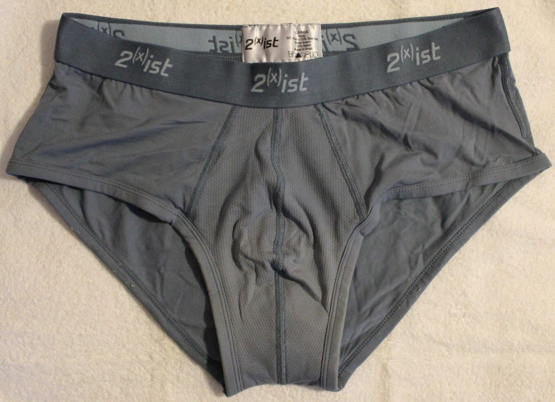 2(x)ist Men's 1 Pair Low-rise Underwear Briefs Large