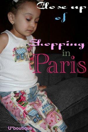 Shopping in Paris Decoupage Jean and shirt set sz 12M-8