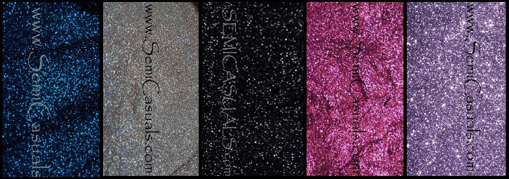 5 COLOR GLITTER SET B 1.25 oz
