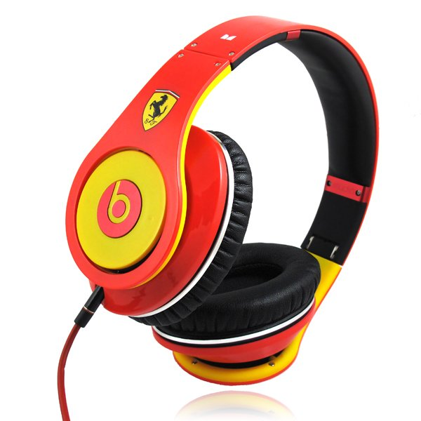 Monster Beats By Dr. Dre HD Studio Ferrari Headphones