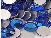 200 Capri Blue Rhinestones
