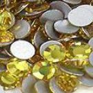 200 Light Colorado Topaz Rhinestones