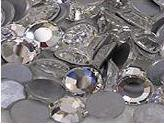 500 Clear Crystal Rhinestones 2mm