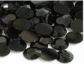 200 Black Rhinestones 2mm