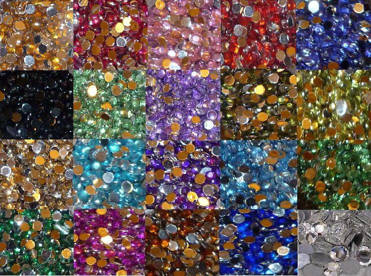 200 Mixed Rhinestones