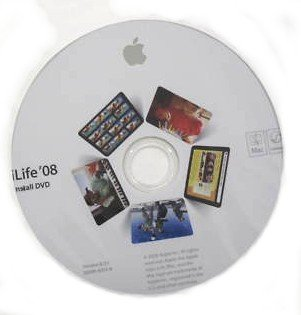 Apple MacBook 13, iLife '08 Install Disk (Mac OS X O/S)