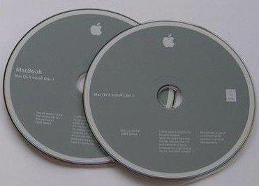 MacBook 13, OS X v. 10.4.8 (Tiger) Install Disks (O/S)