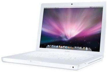 Apple MacBook 13, White, 2.4GHz, 4GB, 160GB, Lion, New-Battery