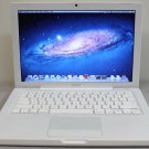 MacBook 13, White, 2.4GHz, 2GB, 160GB, iLife '19, Lion, MB403LL/A, A1181, New-Battery