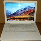 MacBook 13, White, 2.4GHz, 8GB, 1,000GB (1-TB), iLife '19, 10.12 Sierra, MC516LL/A