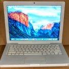 MacBook 13, White, 2.13GHz, 4GB, 160GB, iLife '19, Lion, MC240LL/A, A1181