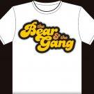 "Medium - White - ""The Bear and The Gang"" Boston Bruins T-shirt"