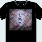 "S, M, L, XL, XXL - Black - ""Face in the Stitching"" T-shirt - Sophie Theroux -"