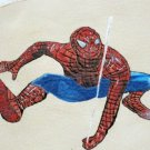 Collector's  Leather Painting Of Spider Man Item 160