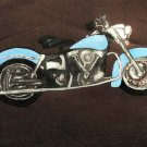 Collector's Leather Painting Of 1967 classic Shovelhead Item 181