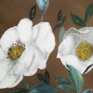 Collector's Leather Painting Trail Of Tears & Cherokee Rose Item 175