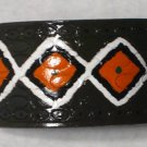 Collector's Native American Design Leather Bracelet I-189